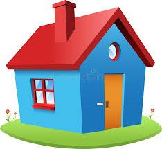 Комбинация логотипа дома и рук вектора Недвижимость и ...