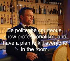 Image result for james bond quotes about suits