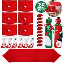 25PCS Christmas Dinnerware Set for 6 Kitchen ... - Amazon.com