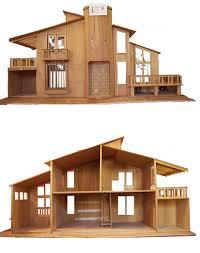miniature dollhouse plans   Online Woodworking PlansPlayful Minitecture  Ultra Modern Dollhouse Designs   Urbanist