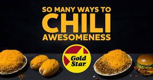 Menu | <b>Gold Star</b> Chili, 3-Ways, Coneys & Burgers