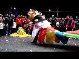 Chinese <b>New Year</b> 2016 NYC - Tai Pun <b>Unicorn</b> Dance & Hakka ...