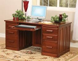 amish flat top home office desk amish built home office