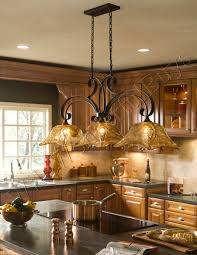 Kitchen Pendant Lights Over Island French Country 3 Light Tulip Chandelier Kitchen Island Pendant