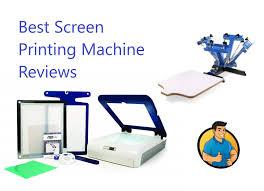 5 Best Screen <b>Printing Machine Reviews</b> (Updated 2019) - Big Time ...