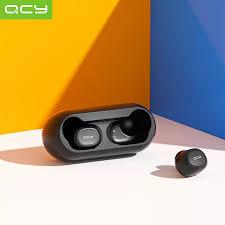 <b>English Version QCY</b> T1C TWS Earphones BT 5.0 Smart Stereo ...