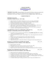 sample property manager resumes cipanewsletter real estate property management resume manager property manager