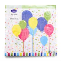 <b>Салфетки бумажные Duni</b> трёхслойные 33х33 <b>Balloons</b> and ...