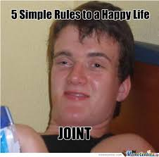 5 Simple Rules To A Happy Life by piper - Meme Center via Relatably.com