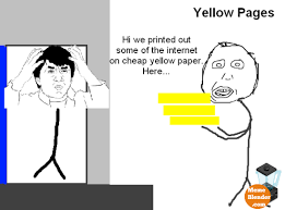 Funny Meme Comic - Yellow pages via Relatably.com