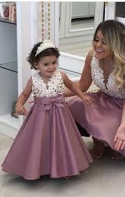 New Ivory Blush Pink <b>Flower Girl Dresses</b> A #FlowerGirlDress ...
