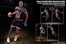 <b>TBLeague</b> M36B / <b>PL2018</b> M36B <b>1/6</b> Black Shin Players Basketball ...