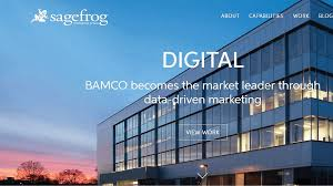 sagefrog marketing group is a full service b2b marketing agency they specialize in healthcare and technology marketing sagefrog is a strategic ad agency surprising office