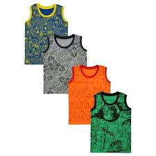 Luke And Lilly Cotton <b>Sleeveless T</b> Shirt For <b>Baby Boy</b>, Size: 0 To 8 ...