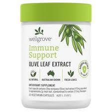 Wellgrove Immune Support <b>Olive Leaf</b> Extract <b>60</b> Capsules | Coles ...