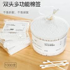 make-up cotton swabs rods axenic one-off <b>double ear cleaning</b> ...