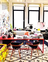 my mini house of style the chic cheerful home office cheerful home office rug