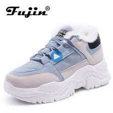 <b>FUJIN</b> Women Casual <b>Sneakers Winter Sneakers</b> Breathable ...