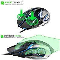 Semoic <b>G815 Gaming Mouse 3200Dpi</b> 6 Buttons Led Backlight USB ...