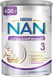 <b>NAN 3</b> OPTIPRO молочко <b>гипоаллергенное</b>, с 12 месяцев, 400 г ...