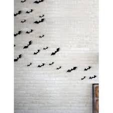 [34% OFF] 2020 <b>12 Piece Halloween Bat</b> 3D Wall Stickers Set In ...