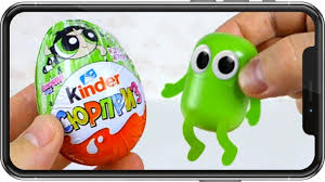 Capsule Alive. Kinder Surprise Scanner. Toys. What's on my <b>phone</b> ...