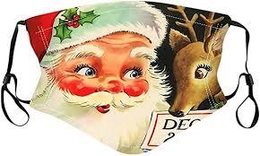 <b>Christmas</b> Face Macks for Adults, Outdoor <b>Washable Reusable</b> ...