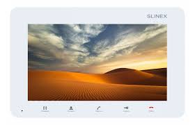 <b>Видеодомофон Slinex</b> Монитор видеодомофона SM-07M <b>WHITE</b> ...