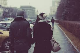 Image result for couple in the snow