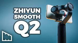 Hands On <b>Zhiyun</b> Smooth Q2 – Setup, Demo, And Review - YouTube