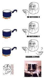 I'm watching you meme - Cooking via Relatably.com