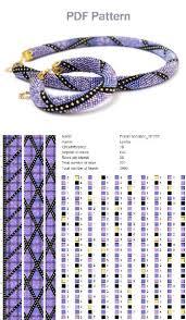 <b>Bead necklace</b> tutorial, <b>bead</b> crochet <b>necklace</b> pattern, <b>beading</b> ...