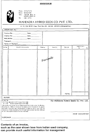 ch example of an invoice