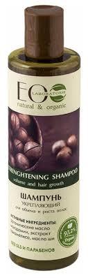 ECO Laboratorie <b>шампунь Укрепляющий</b> для объема и роста <b>волос</b>