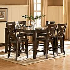 seven piece dining set: overstock update your dining area with this beautiful acton seven piece counter height