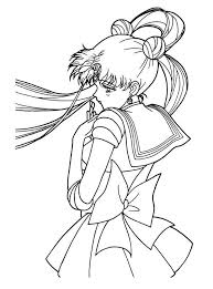 Small Picture 406 best sailor moon coloring sheets images on Pinterest