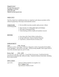 assistant chef cv template page   professional resume cover    professional resume cover letter sample chef resume   sample culinary resume be professional   cover letter