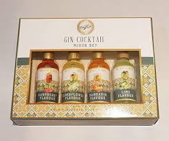 Treat Co, <b>Original Collection</b> Gin Cocktail Mixer <b>Gift Set</b> , Drink Mix ...
