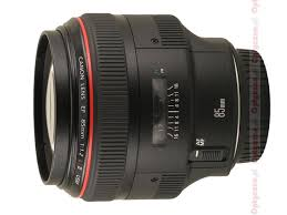 <b>Canon EF 85 mm f/1.2L</b> II USM review - Introduction - LensTip.com