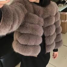 real <b>fox</b> fur <b>coat</b>