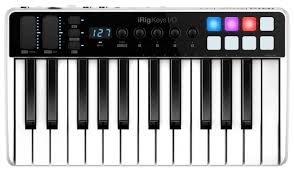 <b>MIDI</b>-<b>клавиатура IK Multimedia iRig</b> Keys I/O 25 — купить по ...