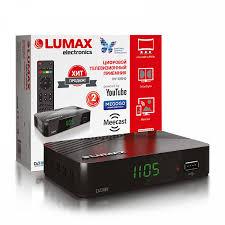 TV-<b>тюнер DVB-T2 Lumax</b> DV-1105HD, в Оптоклубе РЯДЫ