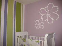 simple creative painting ideas for bedrooms with black color small alluring white purple colors floral pattern wall picture also striped alluring home bedroom design ideas black