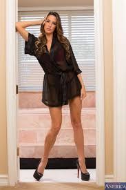 Kortney Kane gets fucked in a bathroom in red lingerie Naughty.