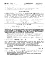 new rn resume sample of rn resume