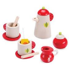 Игровой набор «<b>Чайный</b> сервиз», деревянный, 5 предметов ...