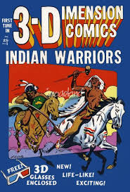 Image result for 3-D western comic books