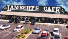 <b>Lambert's</b> Cafe - The Only Home of Throwed Rolls - Sikeston, MO ...