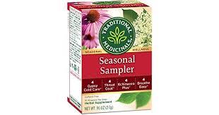 Traditional Medicinals <b>Seasonal Tea</b> Sampler <b>Variety</b> Pack, 16 <b>Tea</b> ...