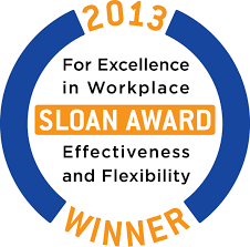 concept solutions recognized for excellence in workplace 2013 sloan award winner logo